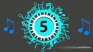 Udemy #5 Play Piano Trick EZ Polychord Hands play Advanced Chord
