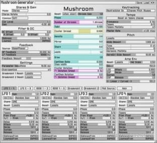 Soundemote Mushroom Generator