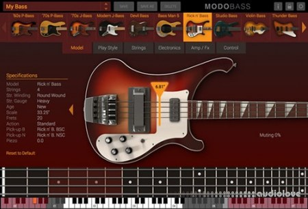 IK Multimedia MODO BASS v1.5.1 WiN MacOSX