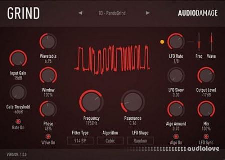 Audio Damage AD035 Grind v1.1 WiN MacOSX