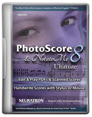 Neuratron PhotoScore Ultimate v8.8.2 / v8.8.4 WiN MacOSX