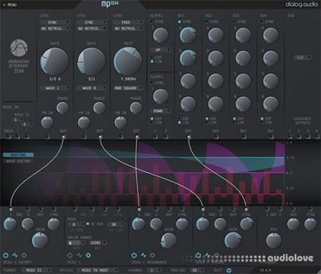 Dialog Audio Modulation Processor 3244 v2.0.1 WiN MacOSX