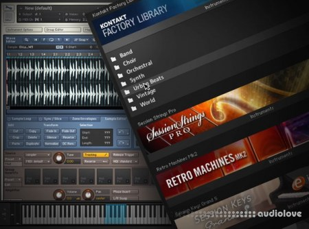 Groove3 KONTAKT 5 Working with the Factory Library