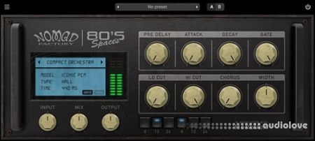 Nomad Factory 80's Spaces v1.0.1 WiN MacOSX