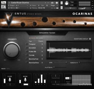 Impact Soundworks Ventus Ethnic Winds Ocarinas