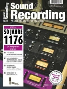 Sound and Recording Dezember 2017