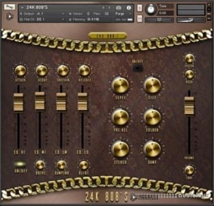 Global Audio Tools 24K 808s