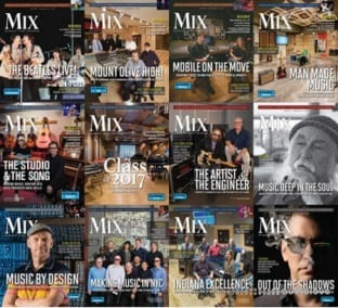 Mix Magazine Full Year 2017 Issues Collection