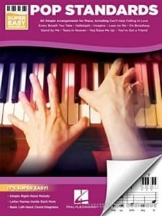 Hal Leonard Pop Standards Super Easy Songbook