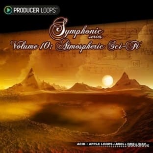 Producer Loops Symphonic Series Vol.10 Atmospheric Sci-Fi