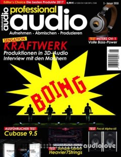 Professional Audio Januar 2018