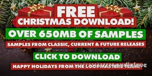 Loopmasters Xmas Past Present and Future 2017 FREE