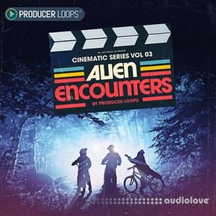 Producer Loops Cinematic Series Vol.3 Alien Encounters