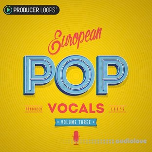 Producer Loops European Pop Vocals Vol.3