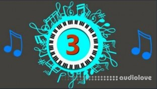 Udemy Rhythm #3 Play 16th Note Ballad 9 and Melody Fill D Key