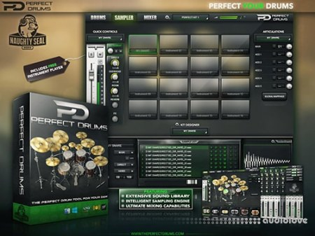 Naughty Seal Audio Perfect Drums v1.6.0 WiN MacOSX