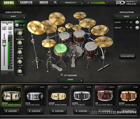 Naughty Seal Audio Perfect Drums Factory Library v1.6.0