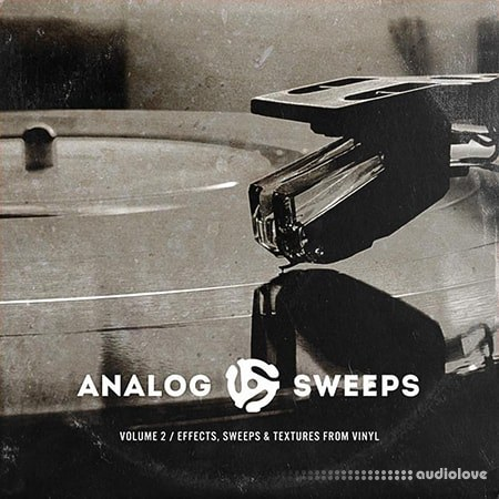 The Drum Broker Presents Analog Sweeps Vol.2 FX Sweeps and Textures from Vinyl WAV