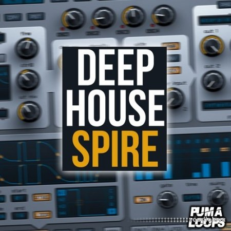 Puma Loops Deep House Spire WAV MiDi Synth Presets