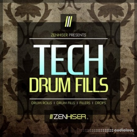 Zenhiser Tech Drum Fills WAV