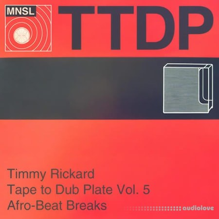 MPC-Samples Tape to Dub Plate Vol.5 Afrobeat Breaks WAV