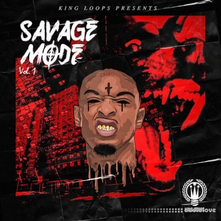 King Loops Savage Mode Vol.1 WAV MiDi