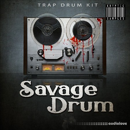Kryptic Samples Savage Drum WAV