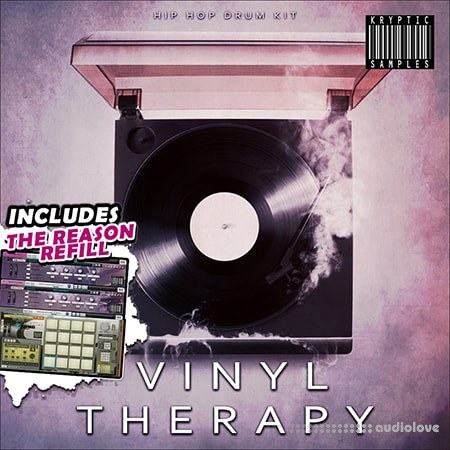 Kryptic Samples Vinyl Therapy WAV MiDi DAW Templates