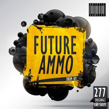 Kryptic Samples Future Ammo Drum Kit WAV