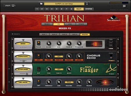 Spectrasonics Trilian v1.4.4c Software Update / Patch Library Update v1.4.7c WiN MacOSX