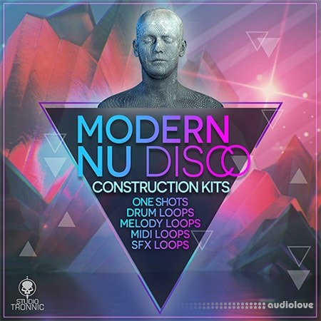 Studio Tronnic Modern Nu Disco Construction Kits WAV MiDi