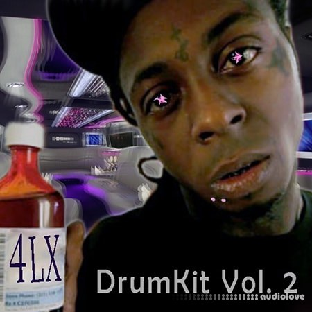 4LX Drum Kit Vol.2 WAV