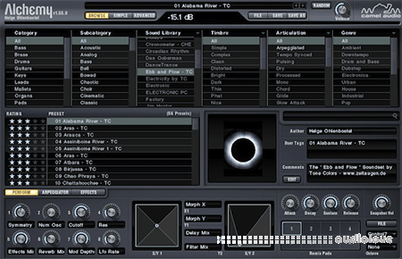 Camel Audio Alchemy Full v1.55 CE R5 / v1.55.0.3366 WiN MacOSX