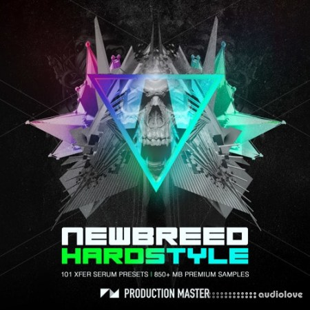 Production Master Newbreed Hardstyle WAV MiDi Synth Presets