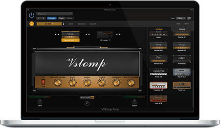 Hotone Audio VStomp Amp v1.1.0 WiN