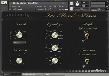 Audiority The Modular Piano KONTAKT