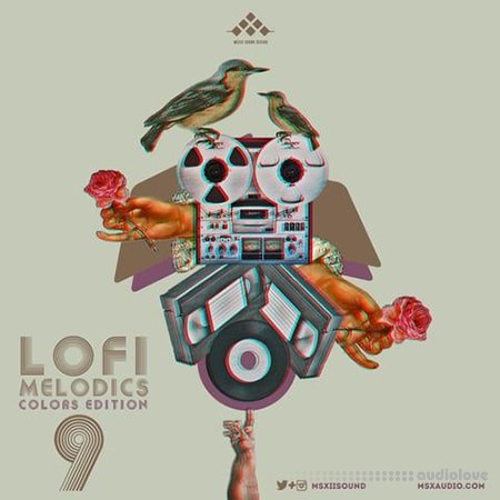 MSXII Sound Design LoFi Melodics Vol.9 Colors Edition WAV
