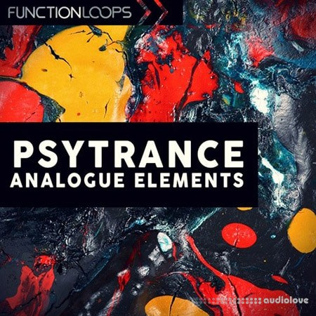Function Loops Analogue Psytrance Elements WAV