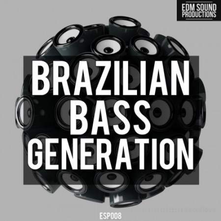 EDM Sound Productions Brazilian Bass Generation WAV MiDi