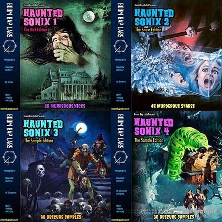 Boom Bap Labs Haunted Sonix Vol.1-4 WAV