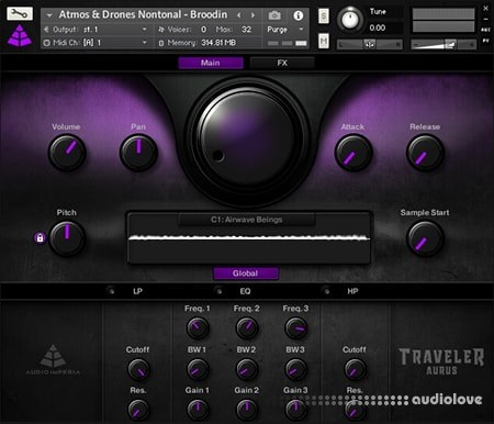 Audio Imperia Traveler Aurus KONTAKT