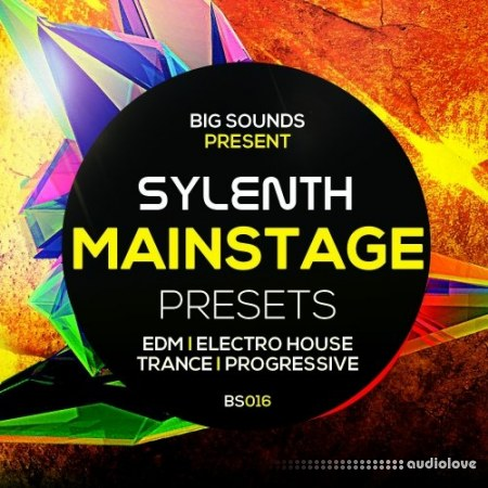 Big Sounds Sylenth Mainstage Presets MiDi Synth Presets