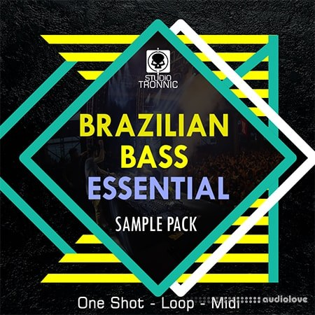 Studio Tronnic Brazilian Bass Essential WAV MiDi