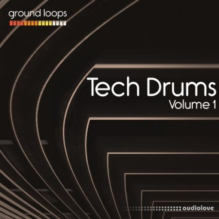 Ground Loops Tech Drums Volume 1 WAV