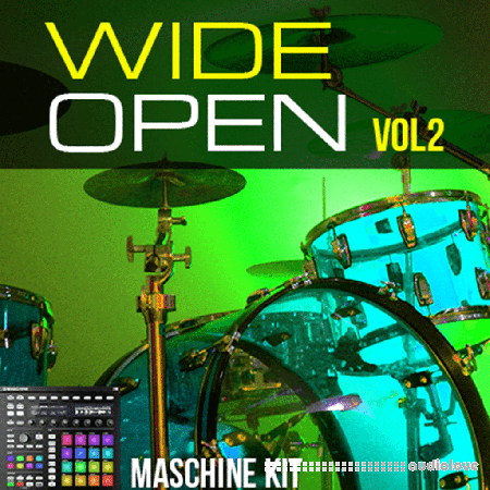 The Loop Loft Maschine Kits Wide Open Drums Vol.2 Synth Presets DAW Templates Maschine
