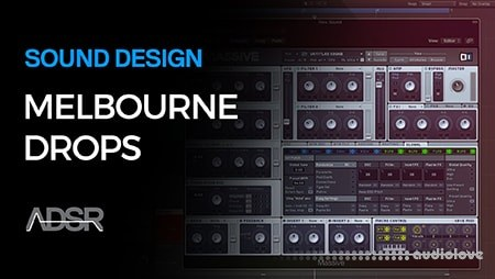 ADSR Sounds Start To Finish Melbourne Bounce Drops TUTORiAL
