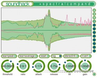Soundhack Spectral Shapers