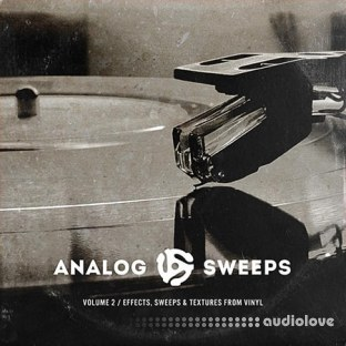 The Drum Broker Presents Analog Sweeps Vol.2 FX Sweeps and Textures from Vinyl