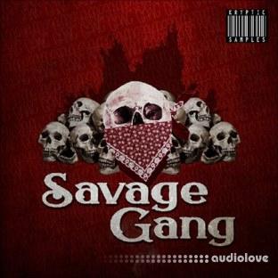 Kryptic Samples Savage Gang