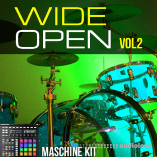 The Loop Loft Maschine Kits Wide Open Drums Vol.2